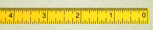 metric right - left