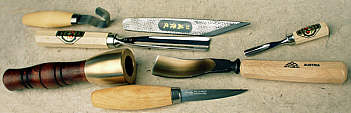 Woodcarving tools