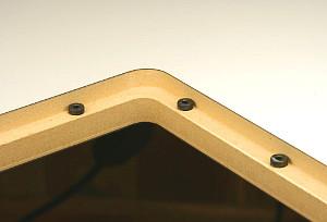 Flachkopfschraube zur Höhenverstellung von Montageplatten