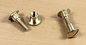 Screws for saw handles