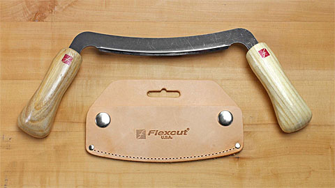 Flexcut Draw Knife with sheath