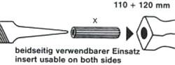 110 - 120 mm