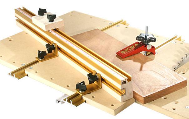 t tracks und weitere komponenten des incra build it systems. Black Bedroom Furniture Sets. Home Design Ideas