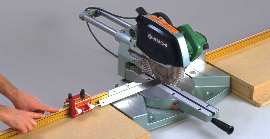 INCRA Track with miter saw: