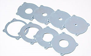 INCRA MagnaLOCK Ring Set - 8 Ringe (3/8 5/8 7/8 1-3/8 1-5/8 1-7/8 2-5/8 3-3/8 inch)