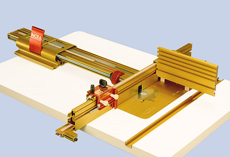INCRA Router Table Fence: The components of this system ...