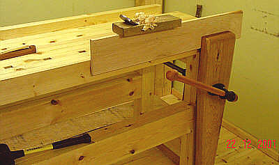 front vise on the right
