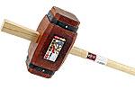 Großer Holzhammer für Pfosten