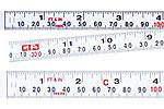 Self-adhesive Steel Measuring Tapes, Self-adhesive Plastic Measuring Tapes