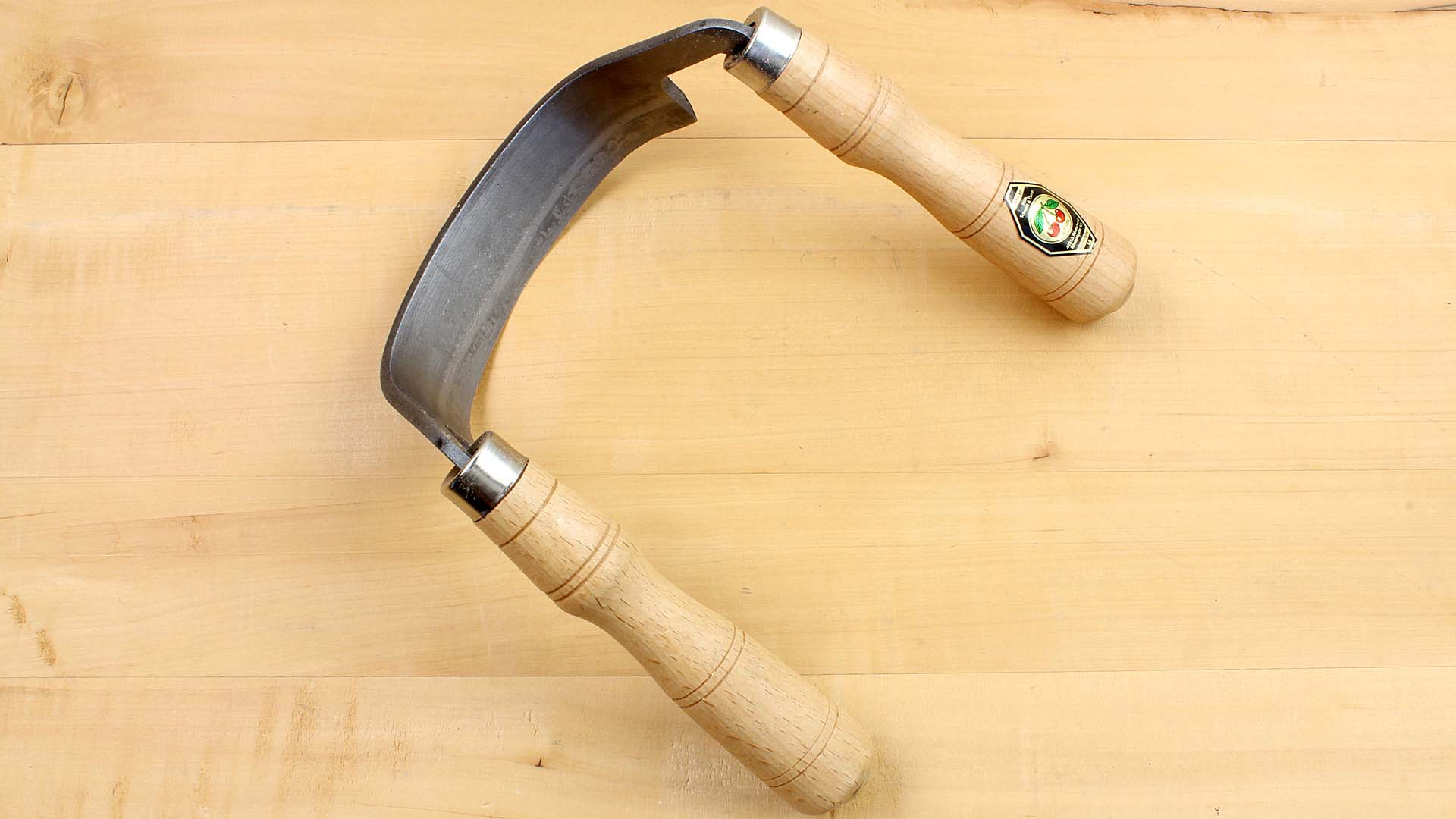 Barrel Draw Knife open