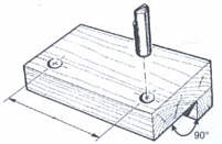 predrilled block