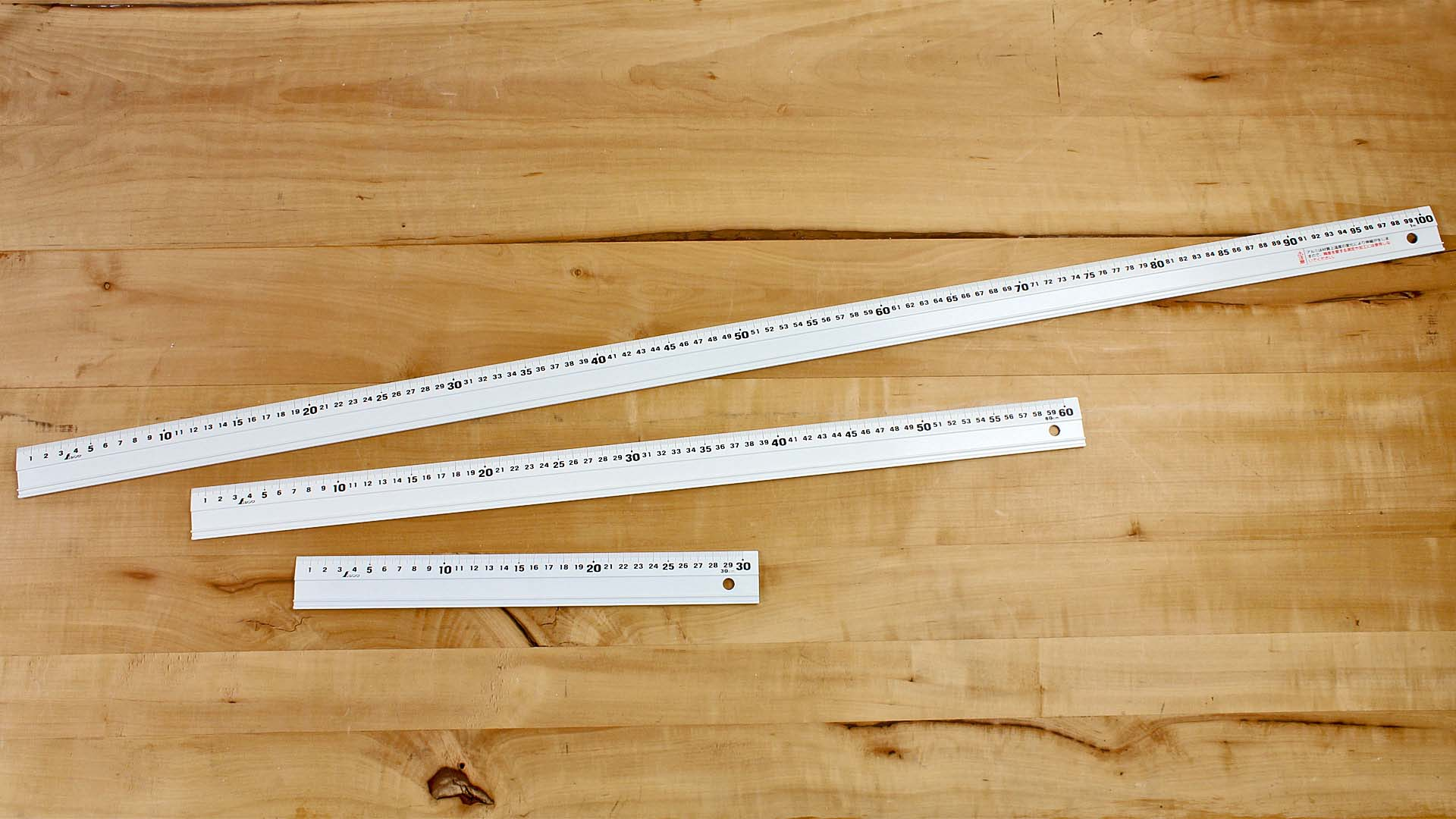 Aluminium Rulers