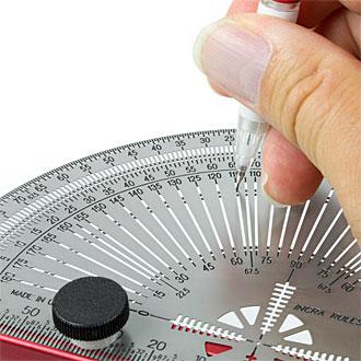 Anreiß-Gradmesser