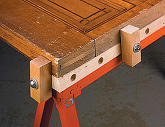 Add functionality to folding trestles and saw horses