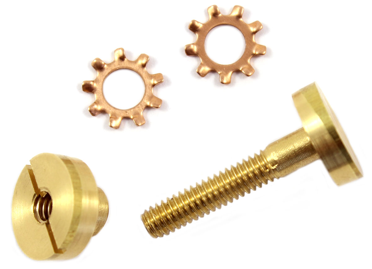 Saw Bolt & Split Nut Brass