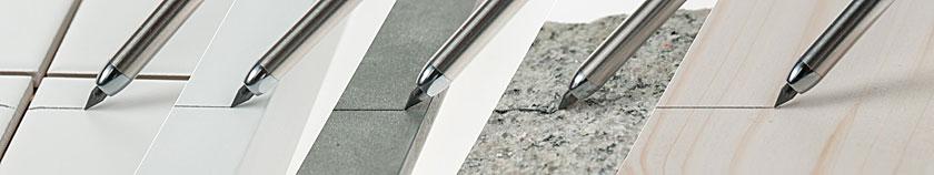 EXPERT DRY Marking Pencil - schreibt auf nahezu allen Oberflächen