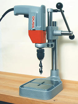 DUSS Two-Speed Hand Drill B13-2RLE with Duss drill stand (drill stand not included!)