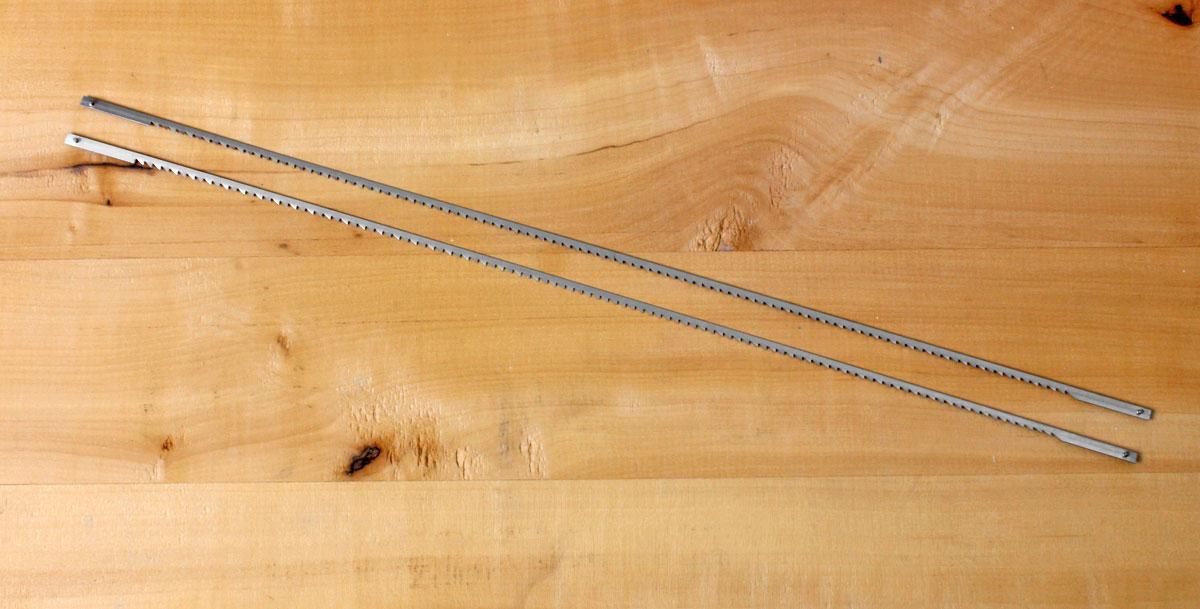 Gramercy tools bow saw fine tools 2 piece set bow saw blades 10 tpi keyboard keysfo Choice Image