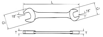 Skizze, Asahi thin spanners