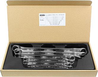 Asahi 6-piece set ring spanners