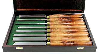 CROWN 8 Piece Woodturning Set