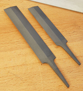 Feather Edge Saw Files, double-faced