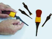 Flexcut handles and blades