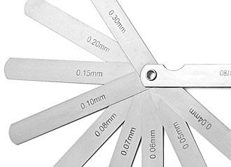 Spessimetro con 9 piastre