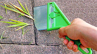 Weed Slicer with Plastic Handle