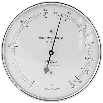 Fischer hair hygrometer for outdoor applications