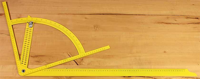 Alpha Anreißgerät gelb