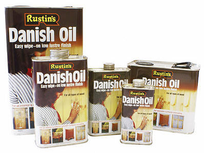 Rustins Danish Oil How To Use