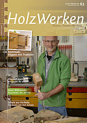 Zeitschrift Holzwerken 63