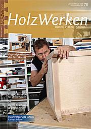 Zeitschrift Holzwerken 70