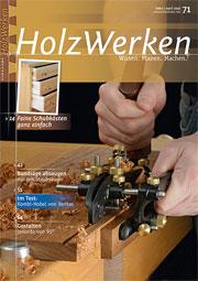 Zeitschrift Holzwerken 71