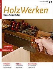 Zeitschrift Holzwerken 77