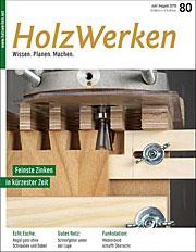 Zeitschrift Holzwerken 80
