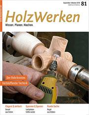 Zeitschrift Holzwerken 81