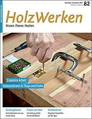 Zeitschrift Holzwerken 82