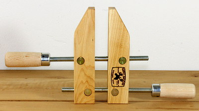 Variable-angle Wooden Clamps