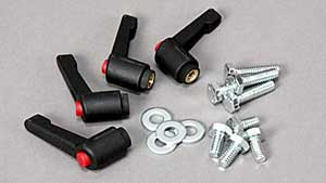 INCRA Build-It Set of 4 Ratchet Lever Knobs with Bolts and Washers