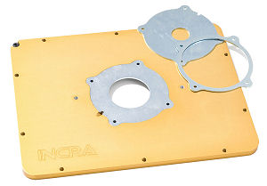 Aluminum MagnaLock Router Mounting Plate