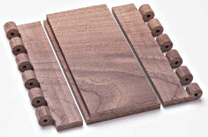 Crosscut ends from blanks