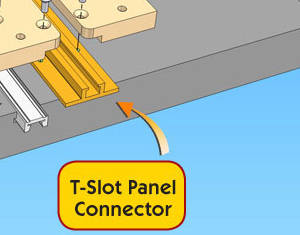 Connettore a T per pannelli Build-It