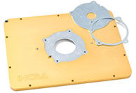 MagnaLock router mounting plate