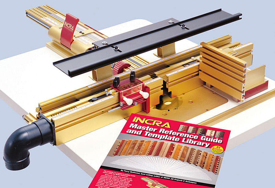 Setup of the incra ls router table positioner fine tools incra ls 17 range super joinery fence system metric greentooth Image collections
