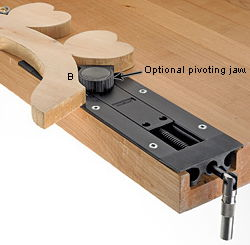 Pivoting Jaw for VERITAS Inset Vise