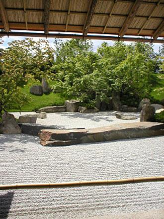 Japanese garden in Berlin
