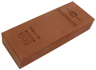 King 1000 wide sharpening stone