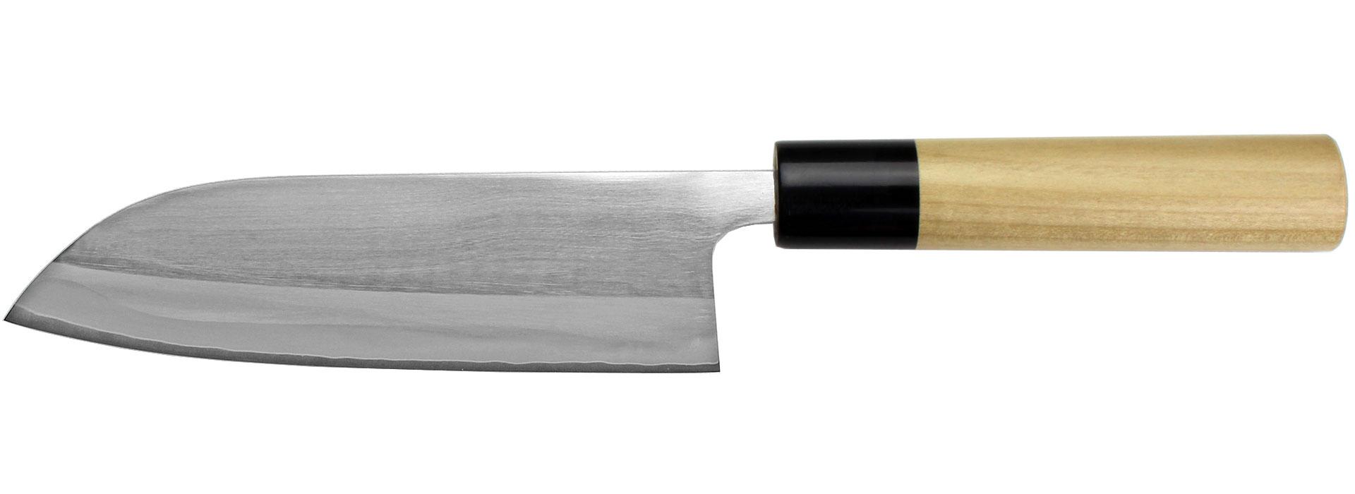 Japanische Küchenmesser aus pulvermetallurgischem Stahl